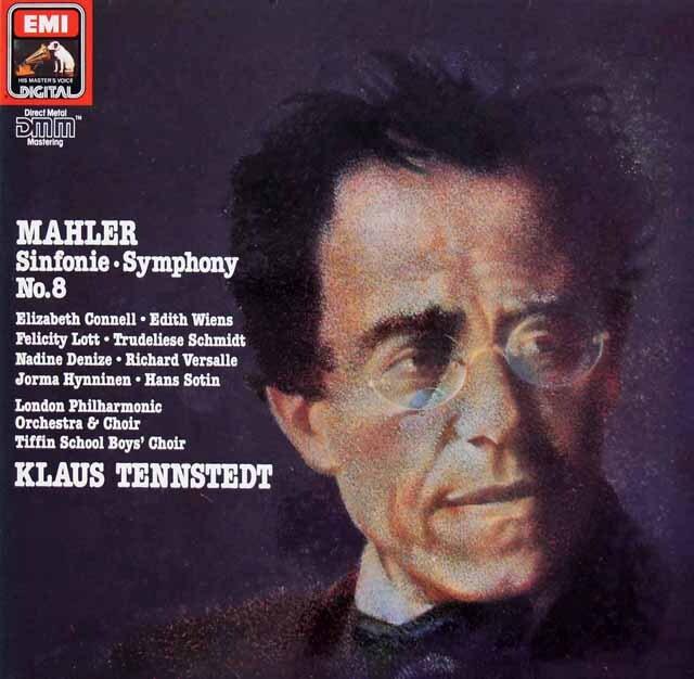 テンシュテットのマーラー/交響曲第8番「千人の交響曲」 独EMI 3221 LP レコード