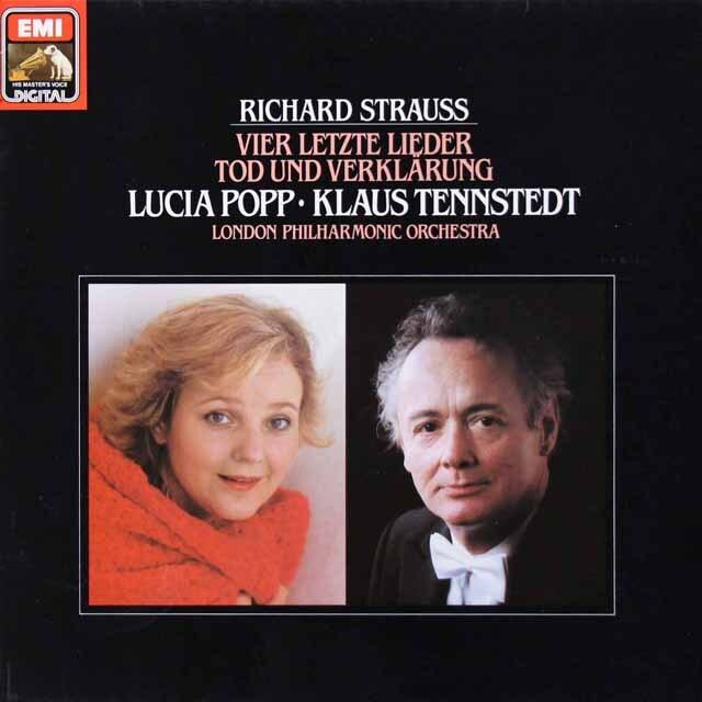 ポップ&テンシュテットのR.シュトラウス/4つの最後の歌ほか 独EMI 3221 LP レコード