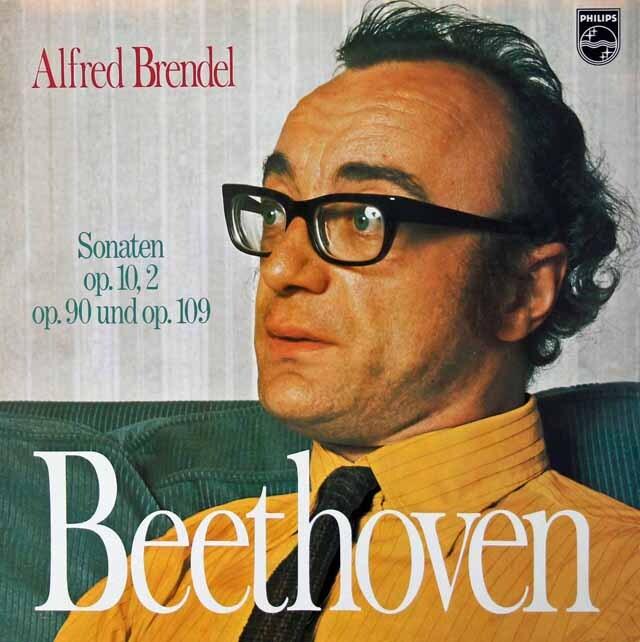 ブレンデルのベートーヴェン/ピアノソナタ 第6番、27番、30番 蘭PHILIPS 3221 LP レコード