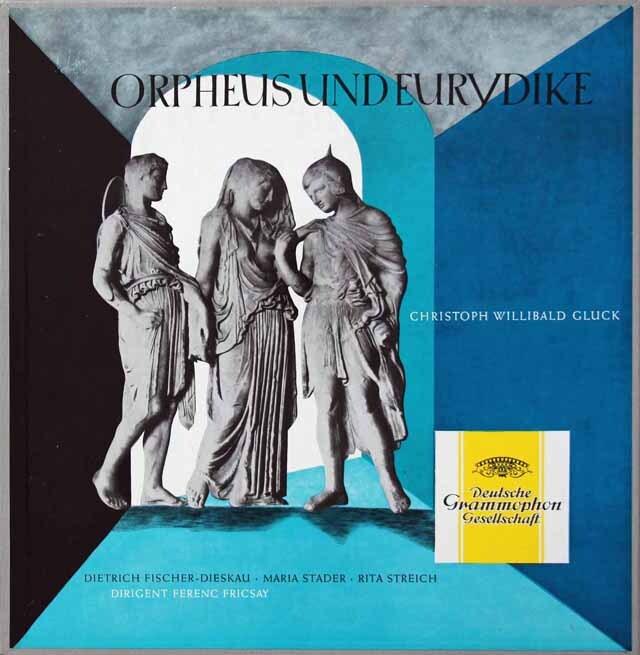 フリッチャイのグルック/「オルフェオとエウリディーチェ」全曲 独DGG 3221 LP レコード