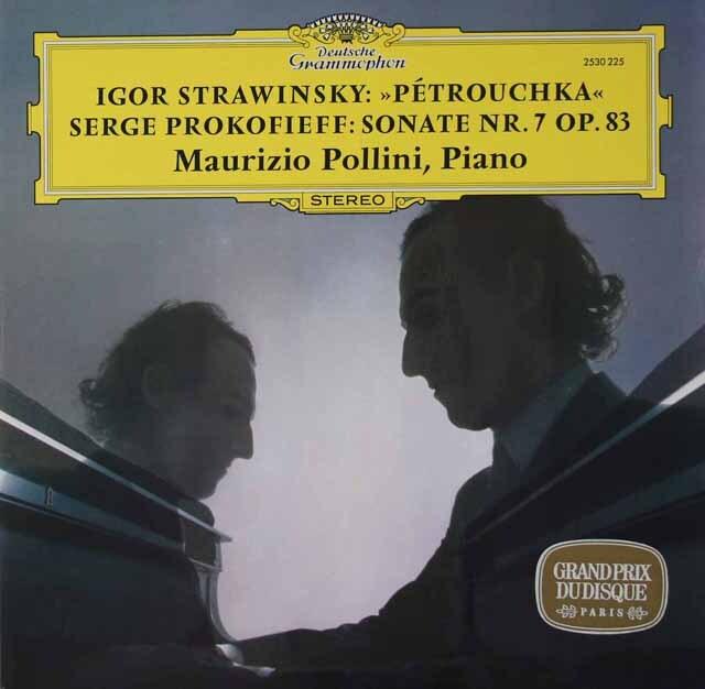 ポリーニのストラヴィンスキー/「ペトルーシュカ」ほか  独DGG 3221 LP レコード