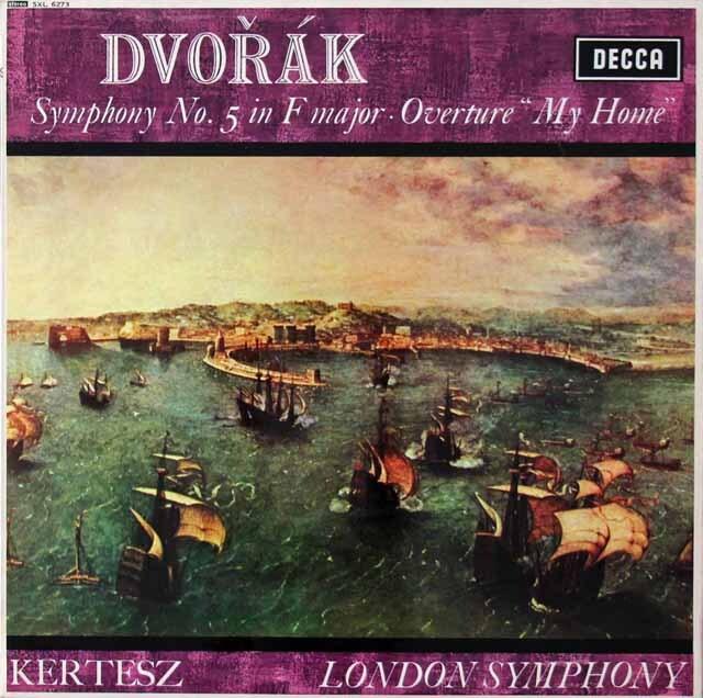 ケルテスのドヴォルザーク/交響曲第5番ほか 英DECCA 3222 LP レコード