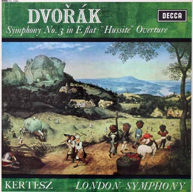 ケルテスのドヴォルザーク/交響曲第3番ほか 英DECCA 3222 LP レコード