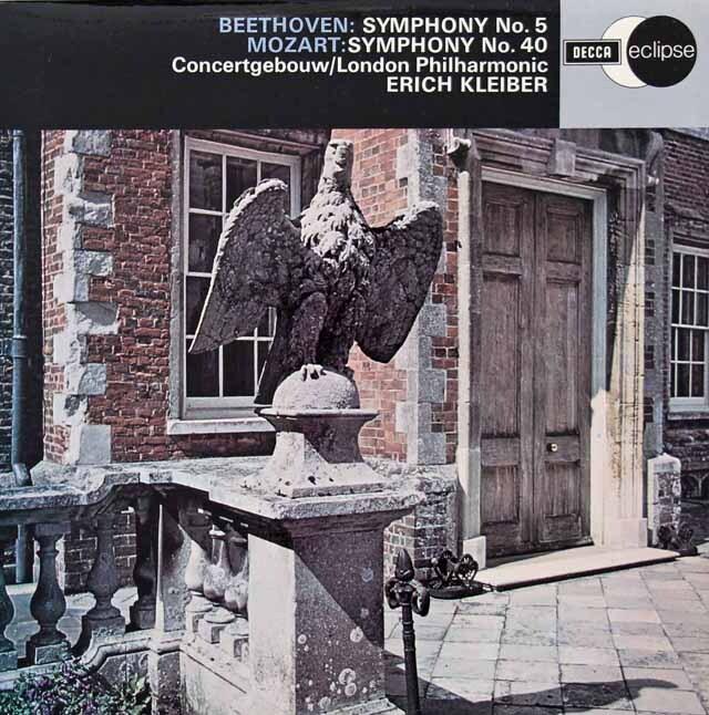 エーリヒ・クライバーのベートーヴェン/交響曲第5番「運命」ほか 英DECCA 3222 LP レコード