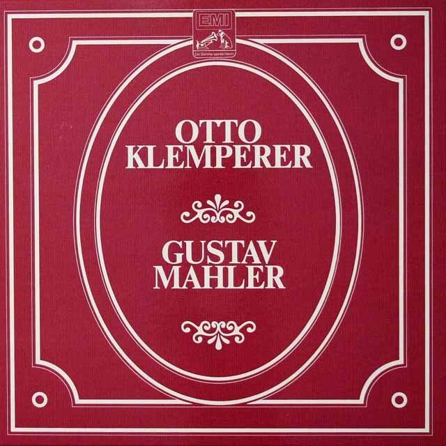 クレンペラーのマーラー/交響曲第2、4、7、9番&「大地の歌」 独EMI 3222 LP レコード