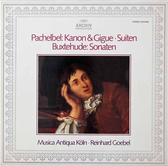 ムジカ・アンティクヮ・ケルンのパッヘルベル/カノンとジーグほか 独ARCHIV 3222 LP レコード