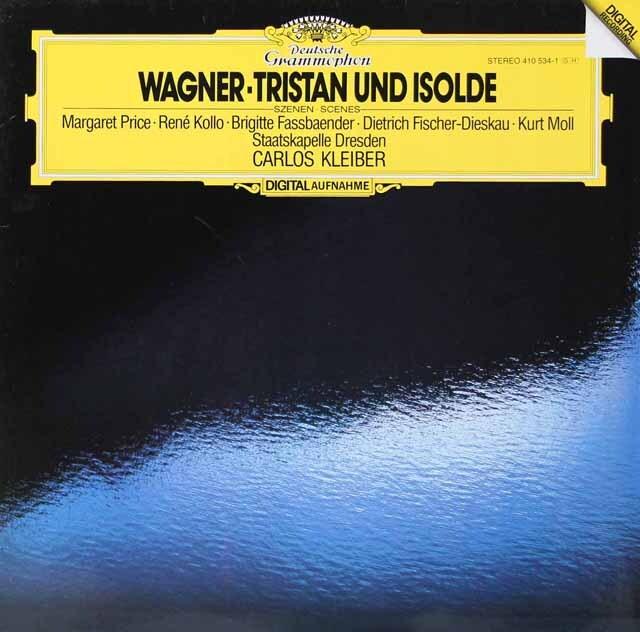 クライバーのワーグナー/「トリスタンとイゾルデ」抜粋 独DGG 3222 LP レコード