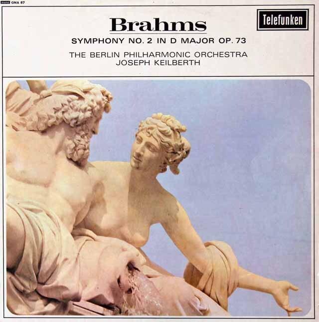 【モノラル】カイルベルトのブラームス/交響曲第2番 英TELEFUNKEN 3222 LP レコード