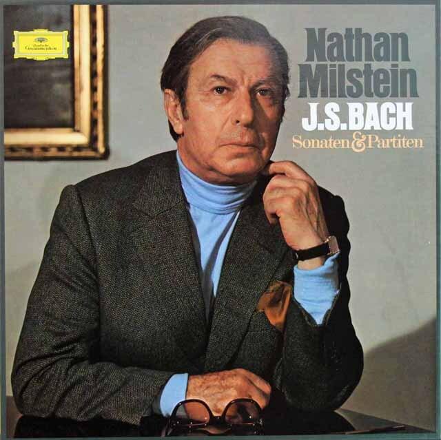 ミルシュタインのバッハ/無伴奏ヴァイオリンソナタとパルティータ 独DGG 3223 LP レコード