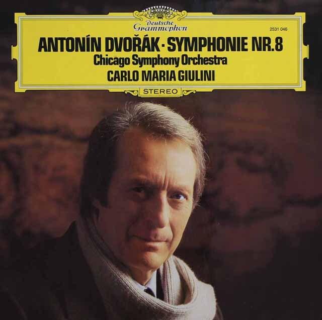 ジュリーニのドヴォルザーク/交響曲第8番 独DGG 3223 LP レコード