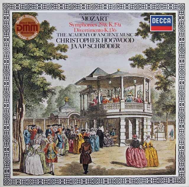 ホグウッドのモーツァルト/交響曲第29番ほか 独DECCA 3223 LP レコード