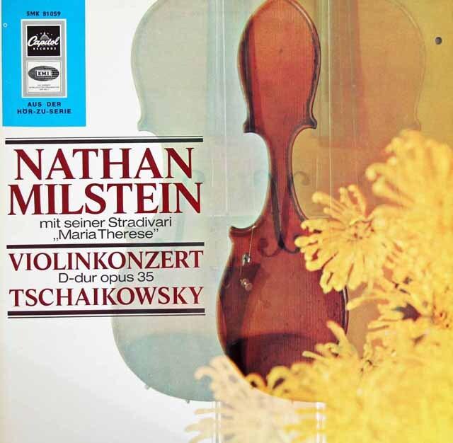 ミルシュタイン&スタインバーグのチャイコフスキー/ヴァイオリン協奏曲 独Capitol(EMI) 3223 LP レコード