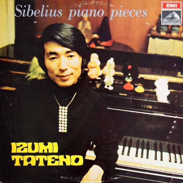 舘野泉のシベリウス/ピアノ小品集 フィンランドEMI 3223 LP レコード