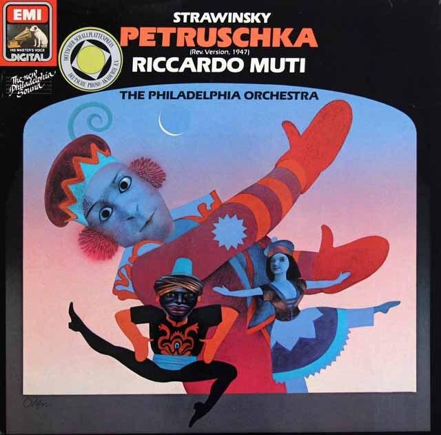 ムーティのストラヴィンスキー/「ペトルーシュカ」 独EMI 3223 LP レコード