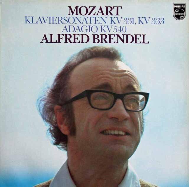 ブレンデルのモーツァルト/ピアノソナタ「トルコ行進曲つき」ほか 蘭PHILIPS 3225 LP レコード
