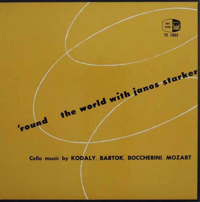 シュタルケルのモーツァルト、ボッケリーニ、コダーイ、バルトーク 米PERIOD RECORDS 3226 LP レコード