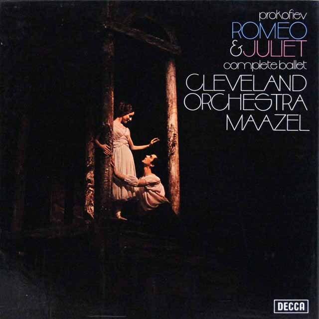 【オリジナル盤】 マゼールのプロコフィエフ/「ロメオとジュリエット」  英DECCA 3226 LP レコード
