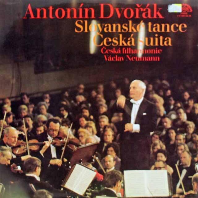 ノイマンのドヴォルザーク/スラヴ舞曲集&チェコ組曲 チェコスロヴァキアSUPRAPHON 3226 LP レコード