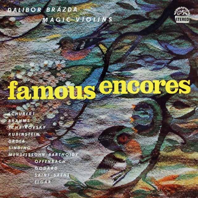 ブラージダのマジック・ヴァイオリン フェイマス・アンコール チェコスロヴァキアSUPRAPHON 3226 LP レコード