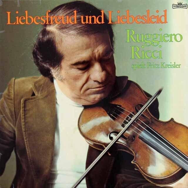 リッチ&コンタルスキーのクライスラー/ヴァイオリン作品集 独Intercord 3227 LP レコード