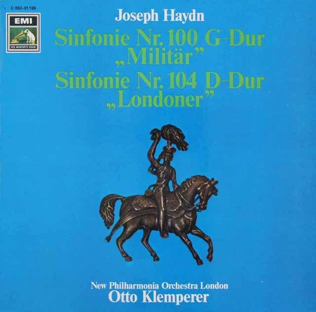 クレンペラーのハイドン/「軍隊」 & 「ロンドン」 独EMI 3227 LP レコード