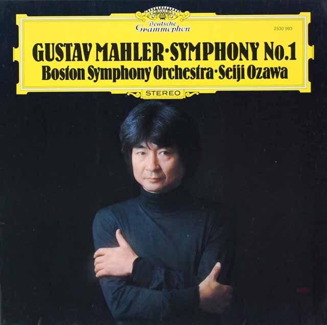 小澤のマーラー/交響曲第1番「巨人」 独DGG 3228 LP レコード