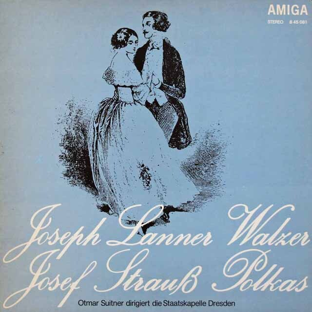 スウィトナーのランナー&J.シュトラウス/ワルツ&ポルカ集 独AMIGA 3228 LP レコード
