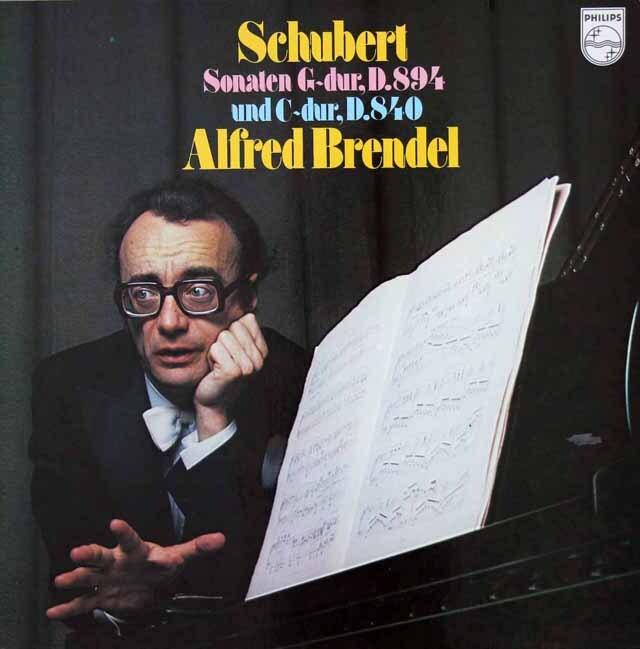 ブレンデルのシューベルト/ピアノソナタ第18番「幻想」ほか 蘭PHILIPS 3228 LP レコード