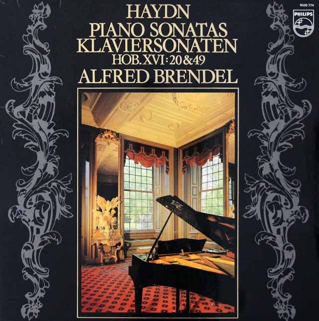 ブレンデルのハイドン/ピアノソナタ第20&49番 蘭PHILIPS 3228 LP レコード