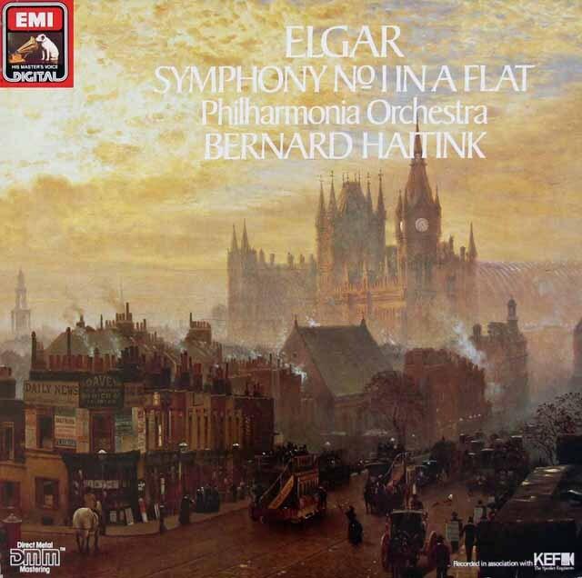 ハイティンクのエルガー/交響曲第1番 独EMI 3228 LP レコード