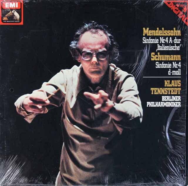 テンシュテットのメンデルスゾーン&シューマン/交響曲第4番 独EMI 3228 LP レコード