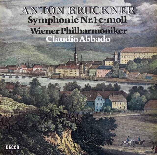 アバドのブルックナー/交響曲第1番 独DECCA 3228 LP レコード