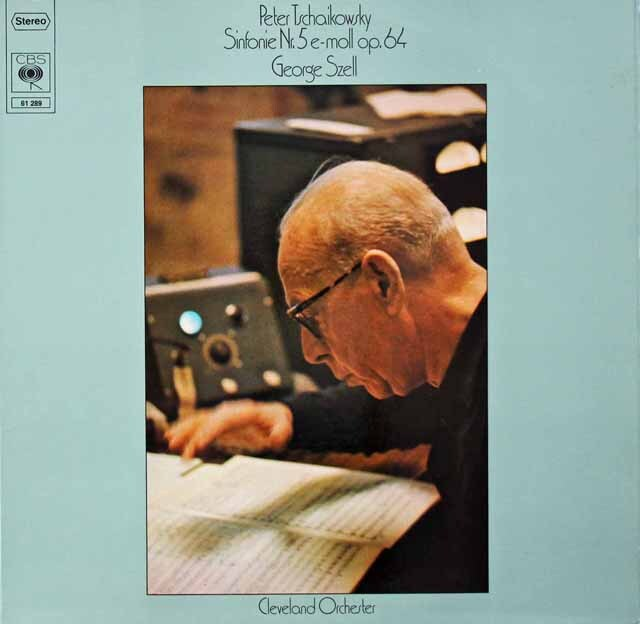 セルのチャイコフスキー/交響曲第5番 独CBS 3228 LP レコード