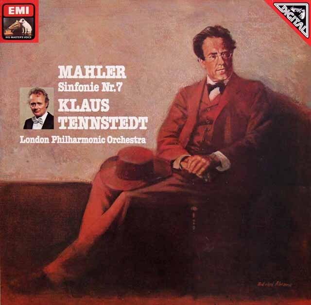 テンシュテットのマーラー/交響曲第7番「夜の歌」 独EMI 3229 LP レコード