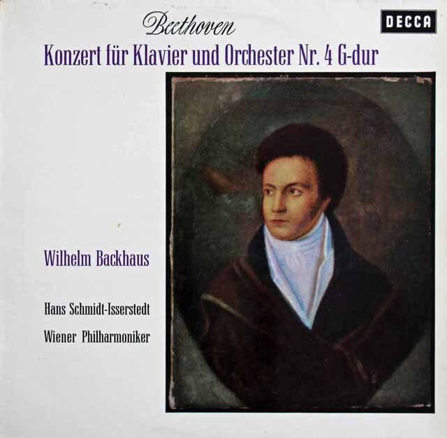 バックハウス&イッセルシュテットのベートーヴェン/ピアノ協奏曲第4番 スイスDECCA 3229 LP レコード