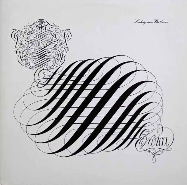 ツェンダーのベートーヴェン/交響曲第3番「英雄」 独SR 3229 LP レコード