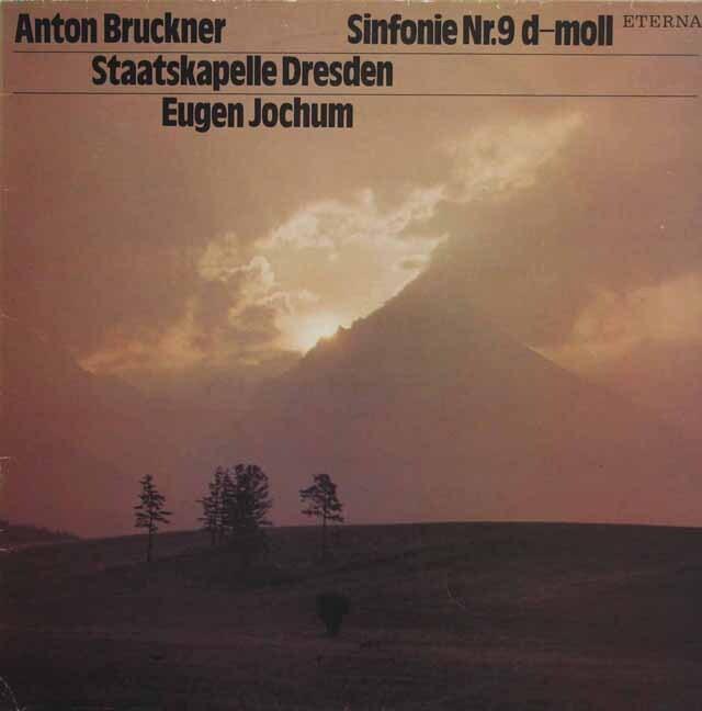 ヨッフムのブルックナー/交響曲第9番 独ETERNA 3229 LP レコード