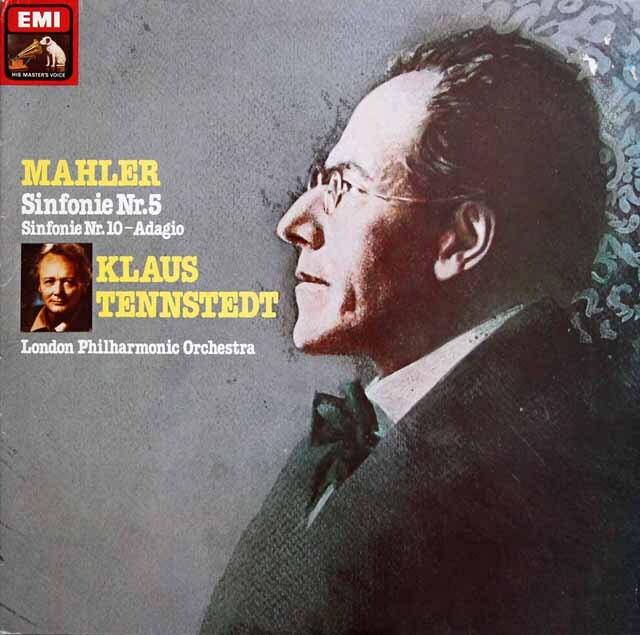 【特価】 テンシュテットのマーラー/交響曲第5番ほか 独EMI 3230 LP レコード