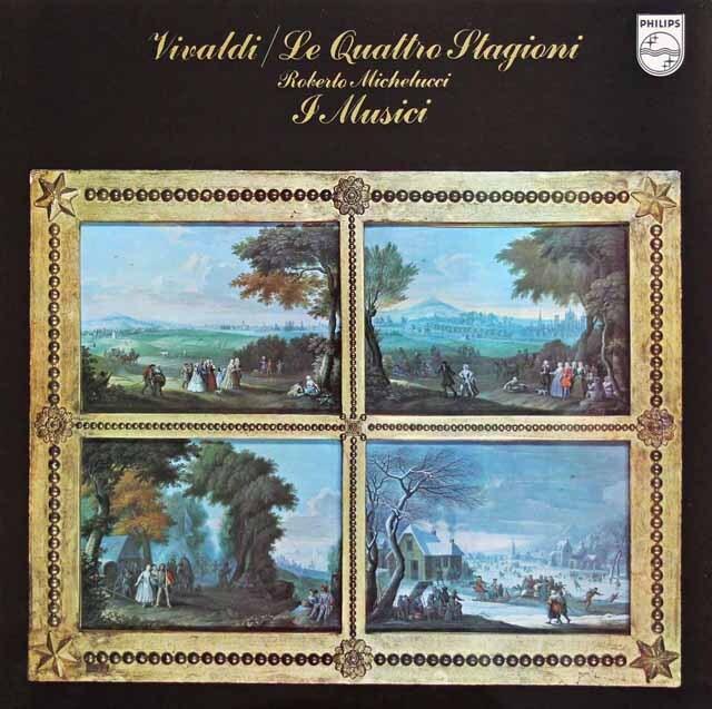 ミケルッチ&イ・ムジチ合奏団のヴィヴァルディ/「四季」 蘭PHILIPS 3230 LP レコード
