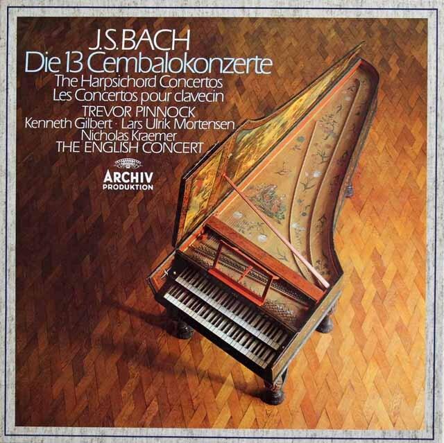 ピノックのバッハ/チェンバロ協奏曲全集 独ARCHIV 3230 LP レコード