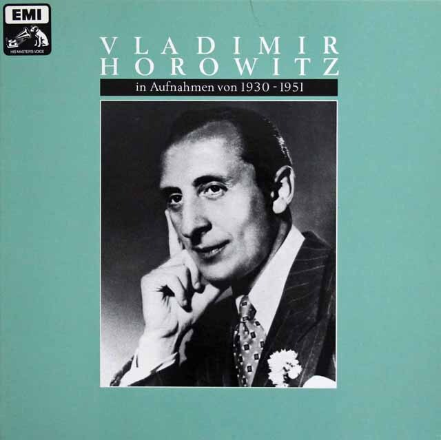 ホロヴィッツ/EMIレコーディングス1930~1951 独EMI 3230 LP レコード