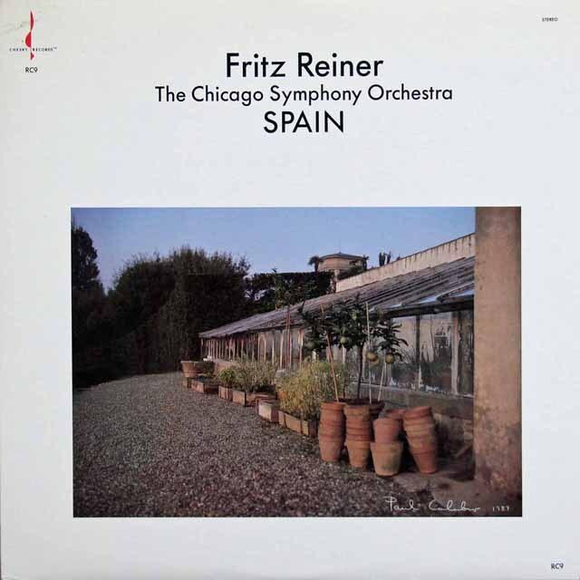 ライナーのスペイン管弦楽曲集 米CHESKY RECORDS 3231 LP レコード