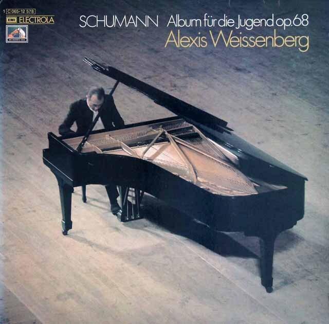 ワイセンベルクのシューマン/子どものためのアルバム 独EMI 3231 LP レコード