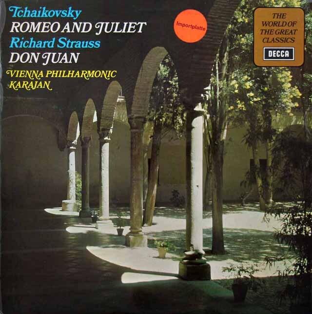 カラヤンのチャイコフスキー/「ロメオとジュリエット」ほか 英DECCA 3231 LP レコード