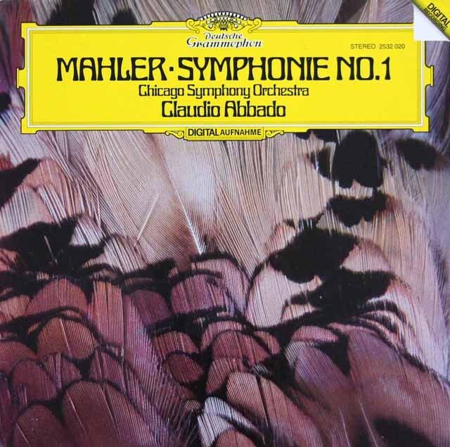 アバドのマーラー/交響曲第1番「巨人」 独DGG 3231 LP レコード