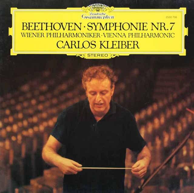 クライバーのベートーヴェン/交響曲第7番 独DGG 3231 LP レコード