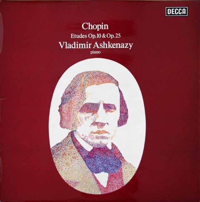 【オリジナル盤】 アシュケナージのショパン/練習曲集 英DECCA 3232 LP レコード