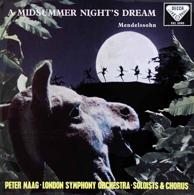 【オリジナル盤】 マークのメンデルスゾーン/「真夏の夜の夢」 英DECCA 3232