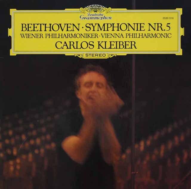 クライバーのベートーヴェン/交響曲第5番 独DGG 3232 LP レコード