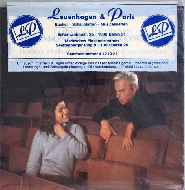 【未開封】 ムター&カラヤンのベートーヴェン/ヴァイオリン協奏曲 独DGG 3232 LP レコード
